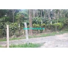 60 Cents Coffee Land for Sale Near Madikeri
