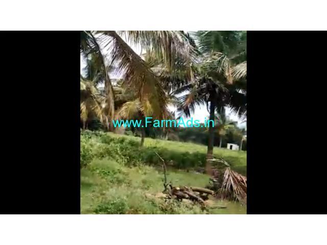 10 Acre Coconut Farm land for sale at Nanjangudu, Mysore.