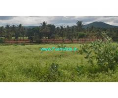 10 Acre red soil fertile farm land for sale at Hanuru Taluk, chmarajanagara