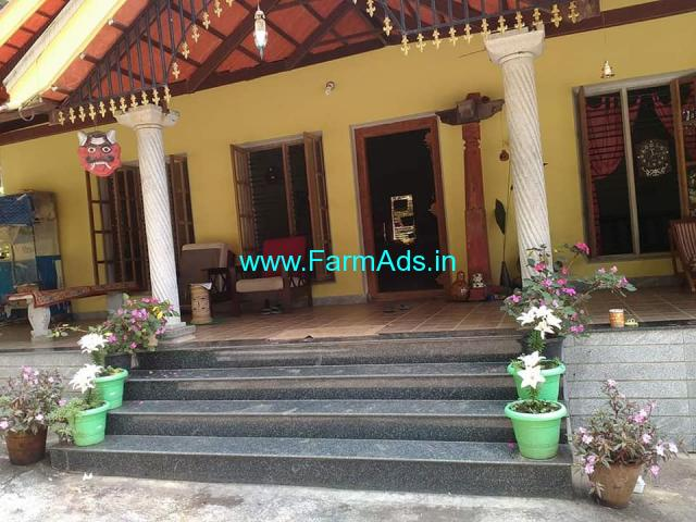 Coffee Estate for sale in Mudigere with Beautiful Farm House
