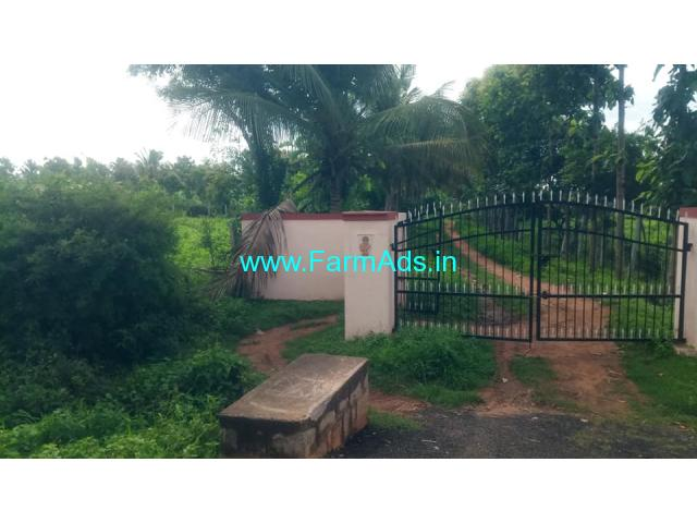 9 Acers Developed Farm Land For Sale near Doddaballapur.