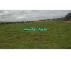 40 Acres Lake attach agreculture land for sale at Hosadurga.