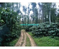50 acre robusta plantation sale in mudigere