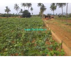 1.10 acre Agriculture Land for sale at Burugamakahalli Chikkaballapur