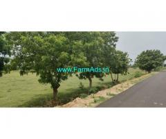 1.64 acres Punjai Farm land at Mathurai village near Uthiramerur for sale