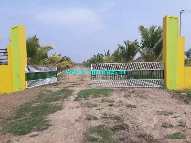 1 Acre Farm Land for Sale Near Venbedu