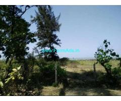 243000 sqmt sea touch plot available in loliem - south goa