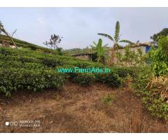 40 cent plot with small house for sale at Vagamon