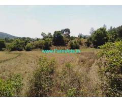 10 Acre Farm Land for Sale Near Chikmagalur