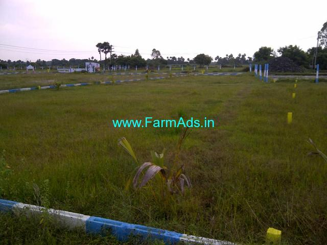 10 Acers of farming land for sale in Tindivanam, village Grandipuram