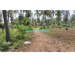 1 acre 20 gunta coconut farm for sale at Chennapatna Taluk, Ramanagara