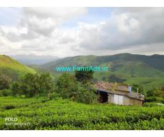 40 cent plot with small old house for sale at Vagamon