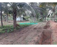 3 acre farm land with Farm house for sale at Mandya