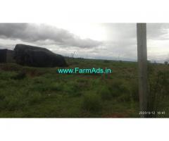 16 Acres Agriculture farm land for sale at Hiriyur. 13 KMS from town
