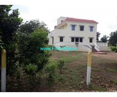 6.13 Acres Farm Land with Farm house for Sale near Moinabad