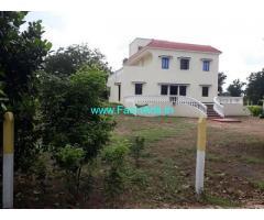6.13 Acres Farm Land with Farm house for Sale near Moinabad