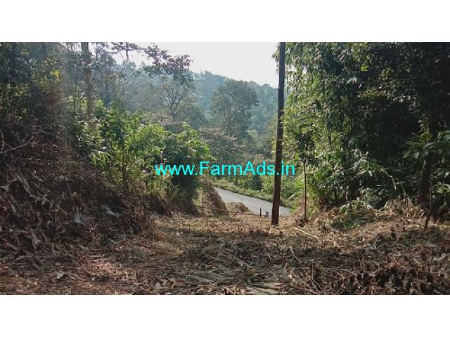 1.50 acre neglected land for sale in Madikeri