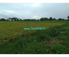 4.5 acres Agriculture land for sale at Thanjavur, vai Mannargudi