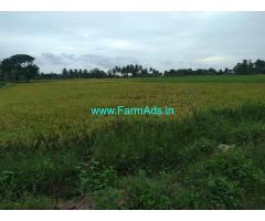 10  acres Agricultural land for sale on koovathor -maduranthakam   Road.