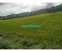 1 Acre Farm Land for Sale Near Mudigere