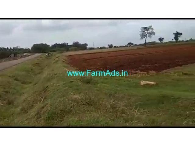 40 acre red soil fertile farm land for sale near t narsipura, mysore