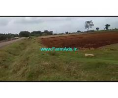 40 acre red soil fertile farm land for sale near t narsipura, mysore