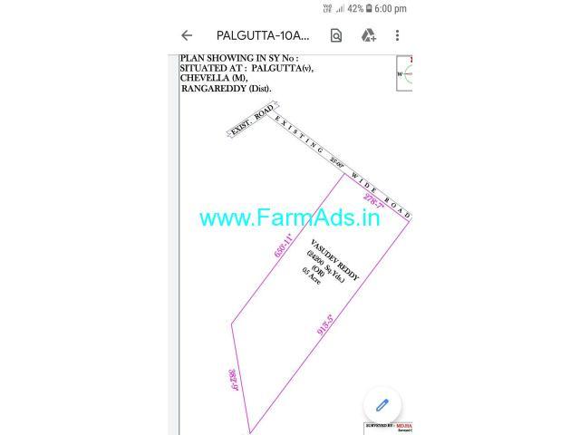 5 Acres Agriculture land for sale In Palgutta village