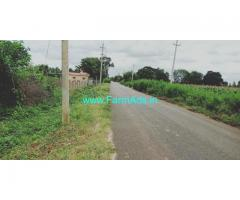 3 acer farm land available for sale near Bangalore.