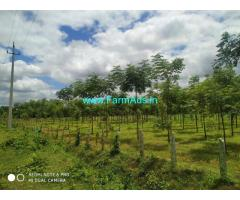 3 Acres Agriculture Farm Land for sale at Kunigal