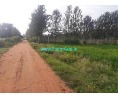 35 guntas farm land for sale at Thaadipalya village Doddabelavangala