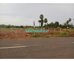 10 Cents Farm Land for Sale Near Vizianagaram fort, near NH16