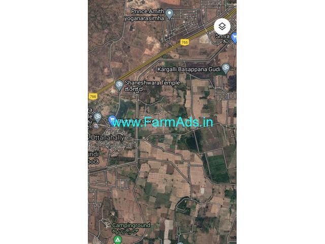 36 gunta land available for sale. In utthanahalli mysore