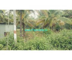 1 Acres  15 gunte agriculture farm land for sale at Hiriyur. Highway.