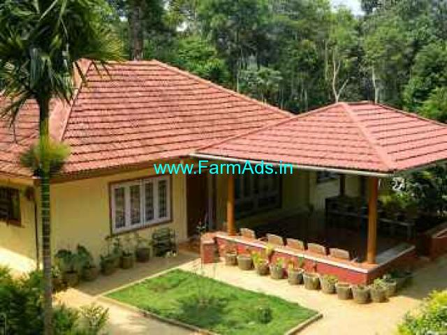 1.75 Acres Farm land with 3 BHK House for sale at Madikeri
