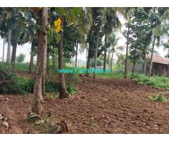 20 Acres Develeoped farm land with Deplex house for sale at Holenarsipura.