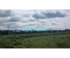 10 acer farm land for sale chikkabalapur towards Gowribidanur NH road