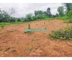 400 Acres Plain Farm land for sale in Chikmagalur