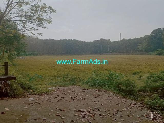 2.2 Acre land for sale in 2 km away from shornur main road Palakkad