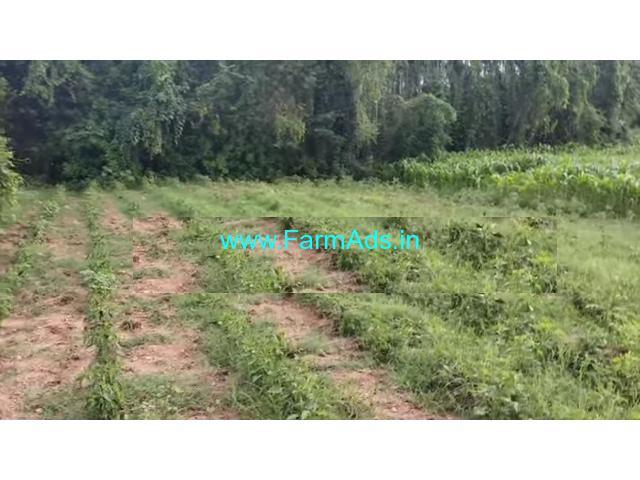 1 acre 20 gunta walkable distance from shimsha river, 30km from mandya