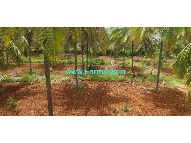 1 acre 33 kuntas farm land for sale at Yediyur, Kunigal.
