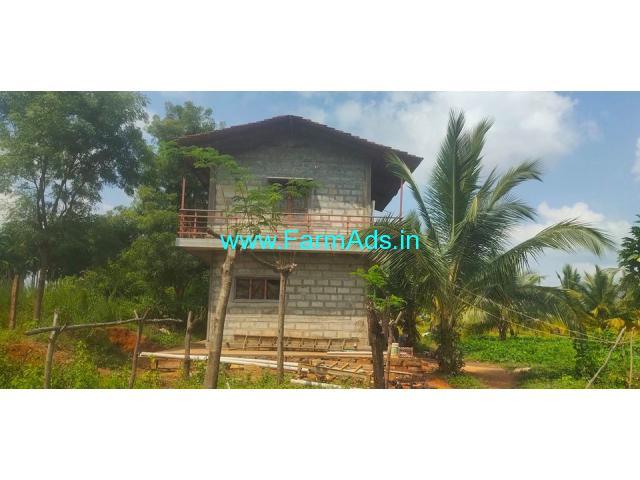 Total 5 acre 4 kuntas farm land for sale at Gubbi