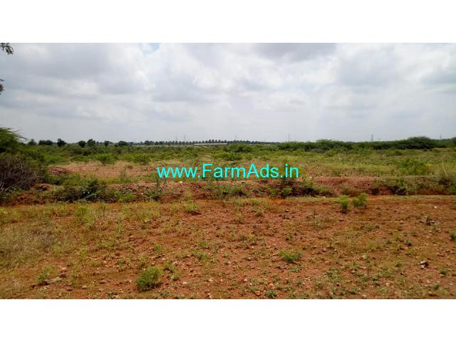 5  Acre farm land for sale at Hiriyur. Village attached land
