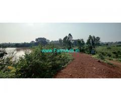 1 acre farm land for sale  At khaseem poor village zaheerabad