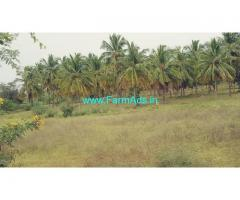 10 Acres  agriculture farm land for sale at Hiriyur