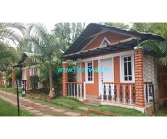 3 Star Resort in 2 Acres Land for Sale in Kushalnagar