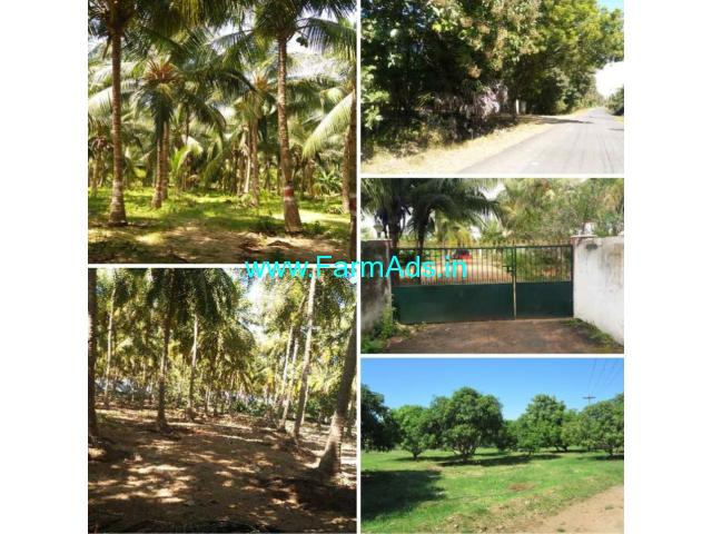 54 acres Farm land for sale. Chengalpattu, Chittamoor to Thenpakkam
