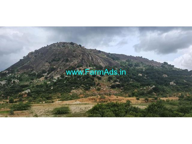 4.5 acer town limit hills attached property for investment at Chikballapur