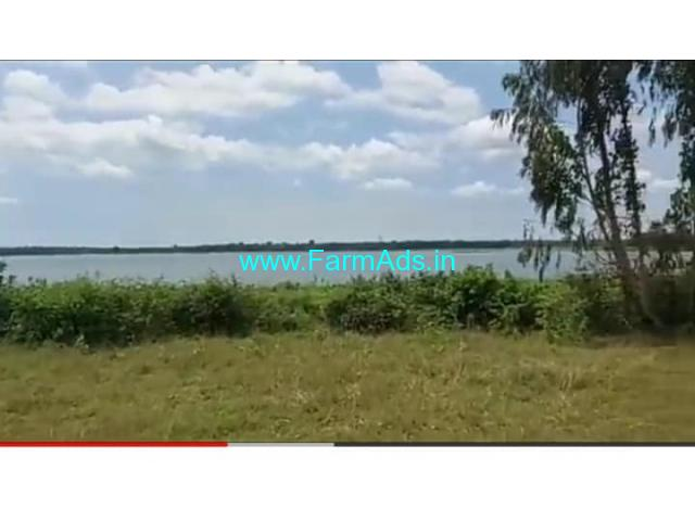 Lake Attached 5.20 Acres Farm land for Sale at Malavalli