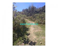 15 acres of agricultural Patta land for sale at Kodaikanal
