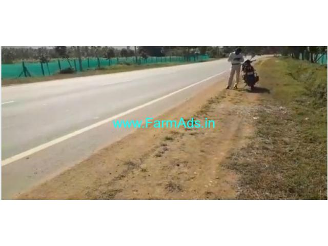 1 acre Highway attached property for sale in Gowribidanur